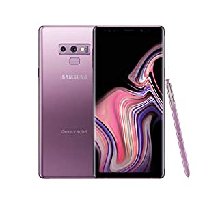 Samsung Galaxy Note9 Smartphone 6.4 inches AT&T Android 512GB (Lilac Purple) (Renewed)