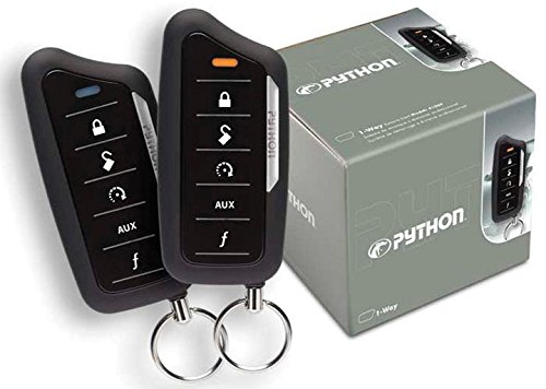 Python Security-YT Python 4606p 1 Way Remote Start 1/2 Mile by Python Security-YT