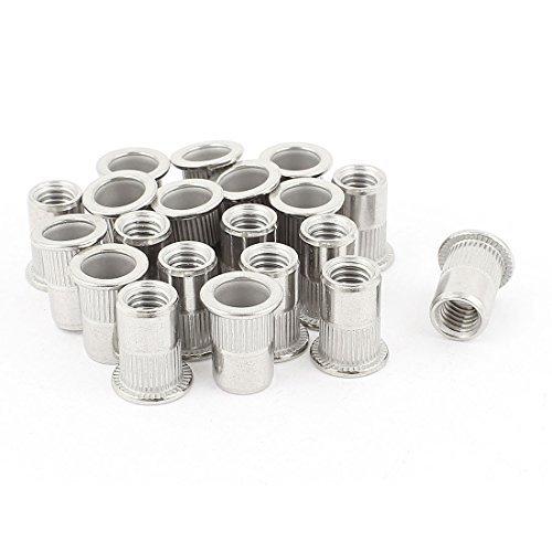 eDealMax 20 piezas de Acero inoxidable 304 de tuercas de ...