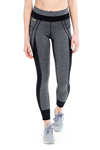 Lole Women's Burst Ankle Leggings Black Noise S & HDO Workout Headband Bundle