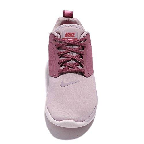 Lunarsolo Mujer Multicolor Wmns para de Zapatillas Deporte Nike Elemental 606 Pink Rose CgwxT5w