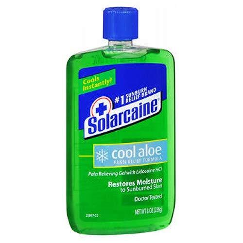 SOLARCAINE ALOE EXTRA GEL 8 OZ pack of 2