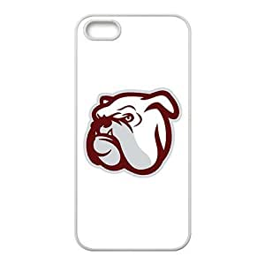 NCAA Mississippi State Bulldogs White For Iphone 5/5S Phone Case Cover