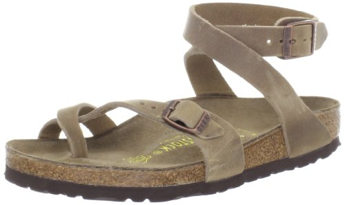 bce39eae22c Birkenstock Women s Yara Leather Ankle-Strap Sandal