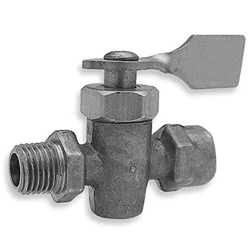 Edelmann 350440 Brass Marine Shut-Off Cock - 1/4'' Male and Female NPT by Edelmann