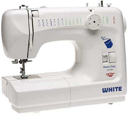 Amazon White XL40 Deluxe 40 Stitch Function Sewing Machine Best White Heavy Duty Sewing Machine