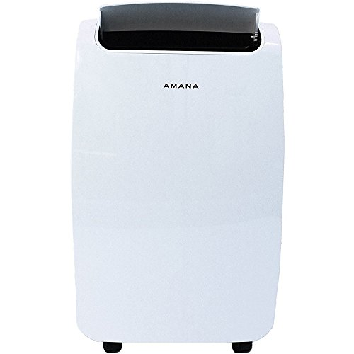 amana 7 000 btu portable air conditioner in white. Black Bedroom Furniture Sets. Home Design Ideas