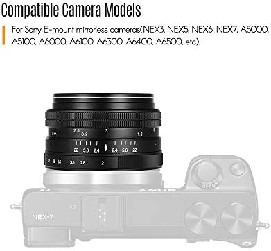 TOPTOO 50 mm f / 2.0 USM Apertura Grande APS-C Enfoque Manual ...
