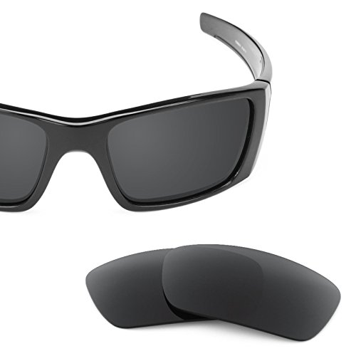 Revant Replacement Lenses for Oakley Fuel Cell Polarized Stealth Black