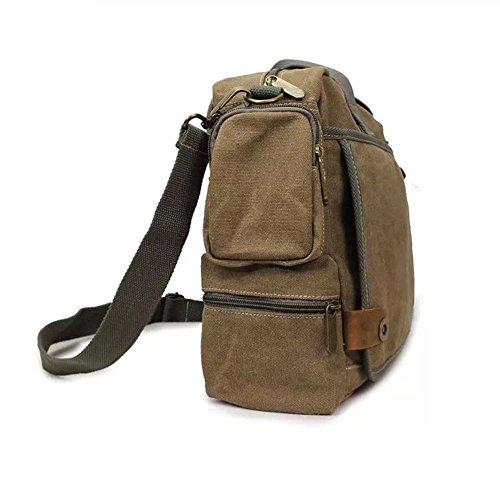 ef92422e6a EBestar sac à main homme en toile sac à bandoulière multifonction sac multi  poche pour le bureau sac de voyage sac loisir sac fourre tout sac pc  portable ...