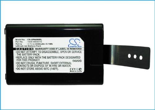 HENZENS 2200mAh BarCode Scanner Battery for Unitech HT680, Unitech PA690, Unitech 1400-900001G by Cameron Sino