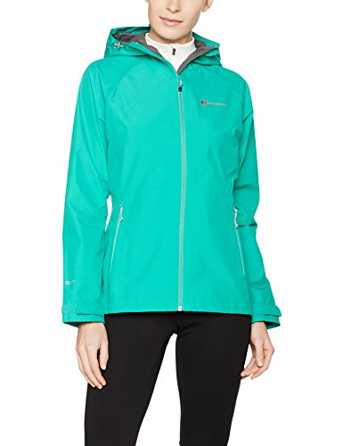 0 oscuro 2 berghaus Mujer Chaqueta Impermeable verde Paclite 08PPzxqE