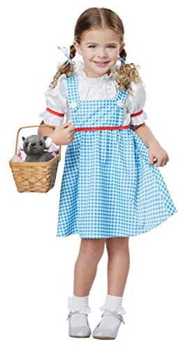 Toddler Tin Girl Costumes (Dorothy Of OZ - Toddler Size Medium (3-4))