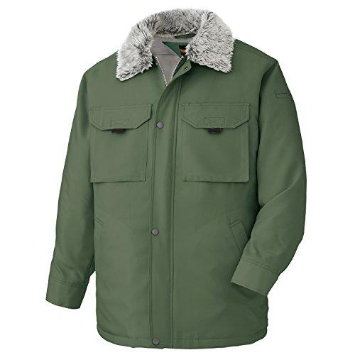 ミドリ 안전 방한 옷 옷 깃 구멍 분리 가능 이중 소매 소프트웨어 카스트로 코트 M4046 그린 LL / Midori Safety Cold Clothing Collar Bore Removable Double Sleeve Soft Castro Coat M4046 Green LL