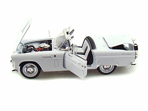 Ford Thunderbird Model - Ford 1956 Thunderbird White Timeless Classics 1/18 by Motormax 73176