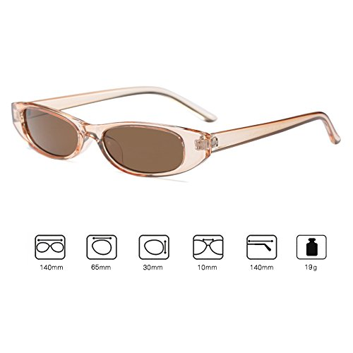 Hibote cadre Mini carré Mode de soleil lunettes Retro C2 Vintage Petit Eyewear Unisexe qWtYHaU
