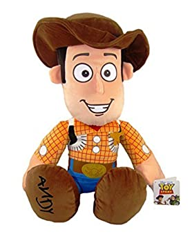 SHERIFF WOODY TOY STORY 42cm sentado 60 cm de pie PELUCHE CALIDAD SUPER SOFT