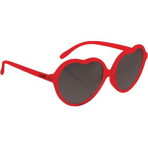 Neff Womens Luv Sunglasses, Red, One Size Fits - Sunglasses Neff