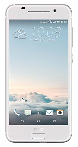 HTC A9 Unlocked Phone - Retail Packaging - Silver