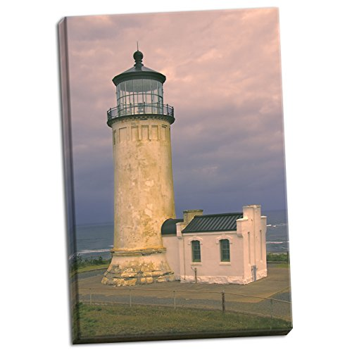 Gango Home Décor North Head Lighthouse, Fine Art Photograph by: George Johnson; One 24x36in Hand-Stretched Canvas