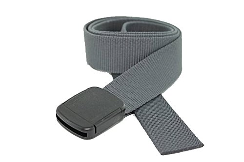 Hiker Belt Made in USA by Thomas Bates (Graphite)