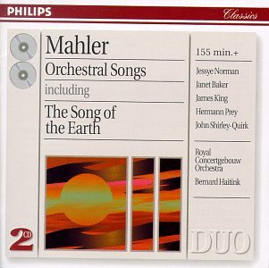 Mahler: Orchestral Songs by Philips