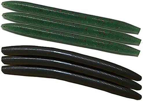 Wacky Worm Rig Tool mit 100 O-Ringen für Köder lockt Angelzubehör an