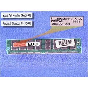 Compaq Genuine 8MB 70ns EDO Memory Module Deskpro Prolinea 5150 5166 5100 5120 5133 575 Prosignia 200 Presario 7000 - Refurbished - 185172-001