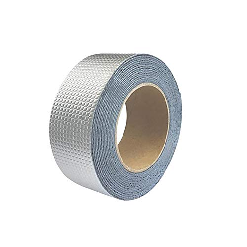 HXZ Butyl Tape Self-Adhesive Waterproof Tape Color Steel Tile Roofing Roof with Aluminum Foil Self-Adhesive Waterproof Trapping Material