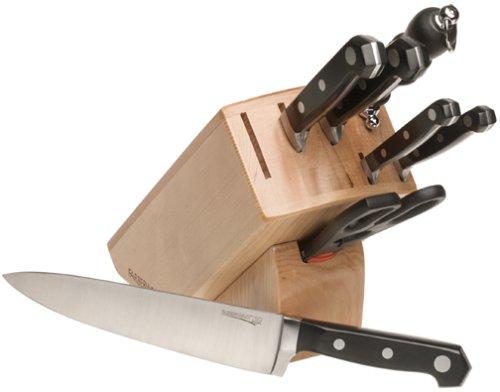 UPC 045908770778, Farberware Pro Forged 8-Piece Knife Block Set