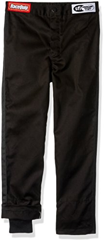 Series Race Pants (RaceQuip M12259Y301 Single Layer Racing Driver Fire Youth/Jr Suit Pants (Black, Small))