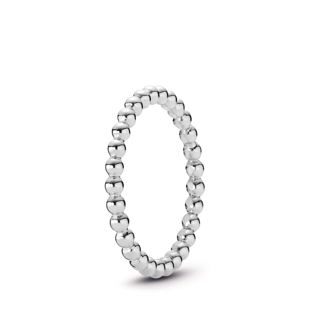PANDORA Eternal Clouds Stackable Ring, Sterling Silver, Size 8.5 by PANDORA