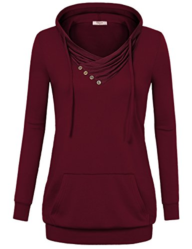 Button Pullover Sweatshirt - 4