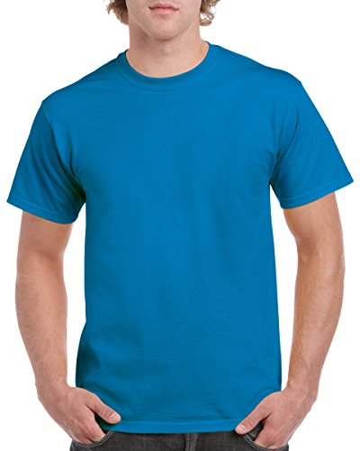Gildan T-Shirt aus schwerer Baumwolle, Farbe: Saphir, Größe: XXL