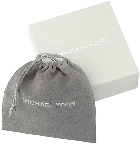 Michael Kors Modern Classic Gold-Tone, White Pearl and Crystal Charm Lariat Slider Choker Necklace, 22'' by Michael Kors (Image #3)
