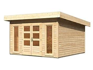 Gartenhaus Fußboden Schrauben ~ Karibu gartenhaus northeim 5 naturbelassen 40 mm inkl. fußboden