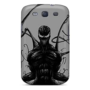 New Fashionable Cbuycases Psq456ENhr Cover Case Specially Made For Galaxy S3(carnage)