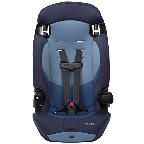 Cosco Finale DX 2-in-1 Booster Car Seat, Sport Blue (1 Car Seat System)