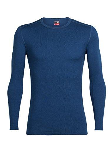 Crewe Ice Ls Breaker Hombre Tech Camisetas Azul nwxwqgW