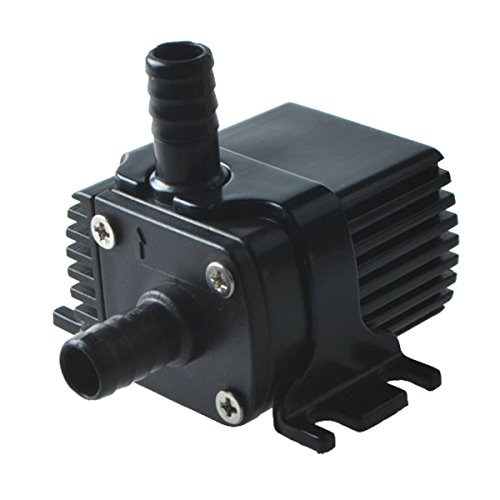 Price comparison product image ZKSJ 3.6L / min Mini DC Brushless Submersible Water Pump Ideal for CPU cooling