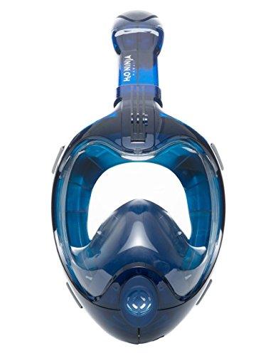 H2O Ninja X Easy Breath Full Face Snorkel Mask