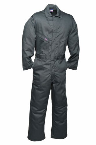 - LAPCO CVFRD7SG-LAR TL Lightweight 100-Percent Cotton Flame Resistant Deluxe Coverall, Spruce Green, Large, Tall