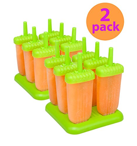 Tovolo Groovy Molds Spring 2 pack