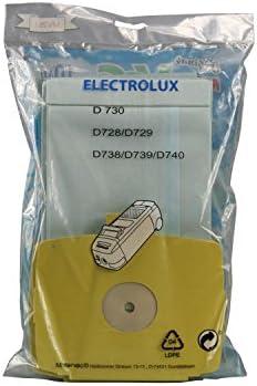 10x Bolsa de polvo Bolsa de polvo para aspirador Electrolux D728 ...