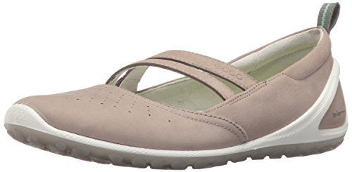 ECCO Women's Biom Lite Mary Jane Fashion Sneaker, Moon Rock, 38 EU/7-7.5 M US