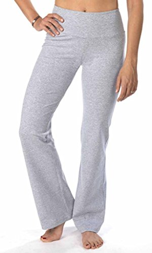 The Girls Tummy Control Women's Boot Cut Pant X-Large Heather Grey