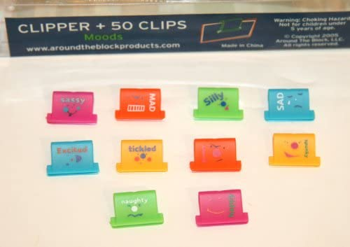 Scrapbook Embellishment Clipper /& 50 Clips