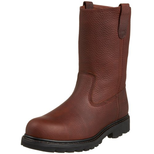Caterpillar Men's Colt Steel Toe Boot,Wellington Earth,10.5 M US (Leather Steel Toe Western Boots)