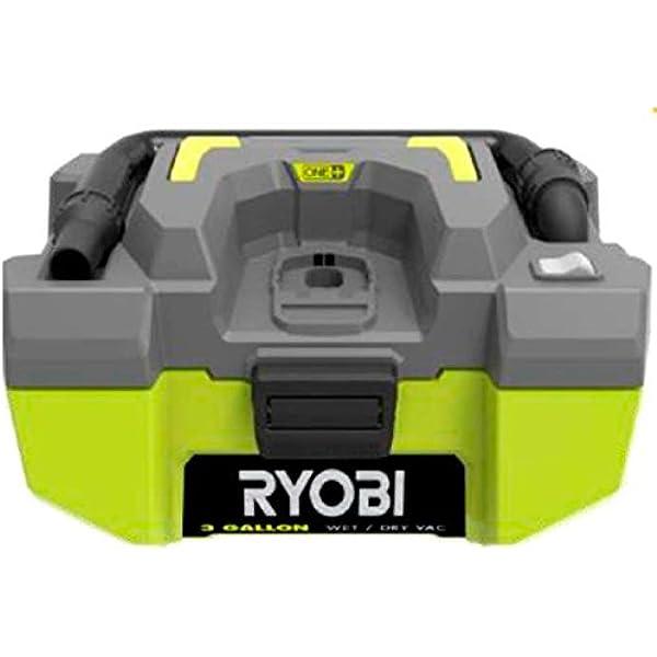 Ryobi R18PV-0 Aspirador Estacionario, Sin Batería Y Cargador, 18 V ...
