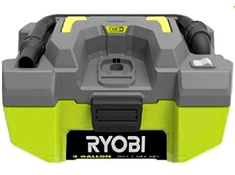 Ryobi R18PV-0 Aspirador Estacionario, Sin Batería Y Cargador, 18 V, Verde: Amazon.es: Bricolaje y herramientas